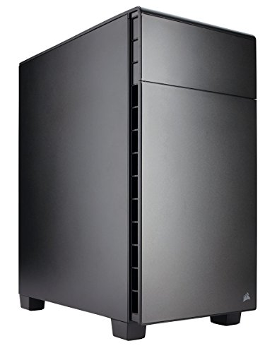 Foto Corsair Carbide 600Q Case da Gaming, Invertito Mid-Tower ATX, Insonorizzato...