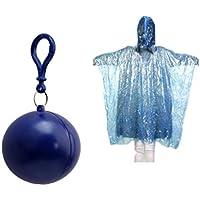 JinZhiCheng - Pelota de poncho portátil desechable (azul)