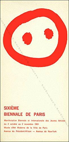Sixieme biennale de paris. du 02 10 1969 au 02 11 1969