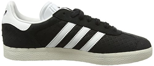 adidas Damen Gazelle Sneakers Schwarz (Core Black/Crystal White/Chalk White)