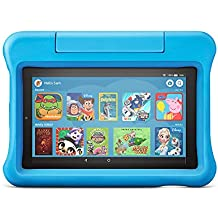 "Fire 7 Kids Edition Tablet | 7"" Display, 16 GB, Blue Kid-Proof Case"