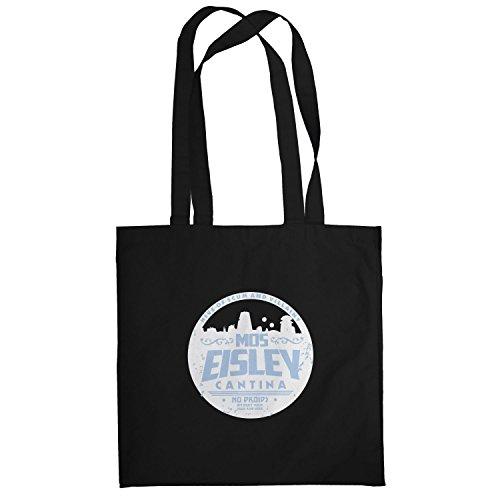 Texlab–No Droids–sacchetto di stoffa Nero