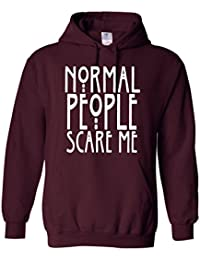 Normal personas Scare Me Jersey Dope Swag Hipster superior Unisex Normal, sudadera con capucha