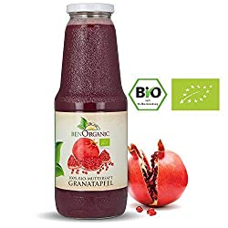 Bio Granatapfel Muttersaft, 6 x 1 Liter Granatapfelsaft Direktsaft