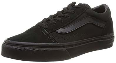 Vans K Old Skool, Unisex-Kinder Sneakers, Schwarz (blk/blk), 27 EU