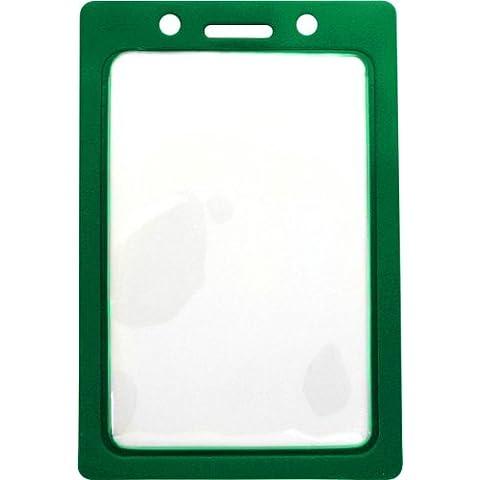 1820-3004 Vinyl Color - Frame Badge Holder - Pack of 100 Green by Brady