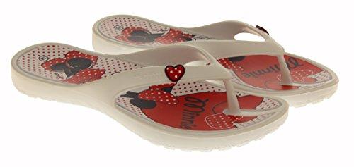 Disney Minnie Mouse Daisy Duck Sandales Filles Blanc