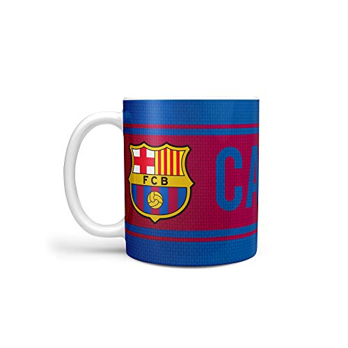 Taza de cerámica 'Captain' FC BARCELONA oficial ...