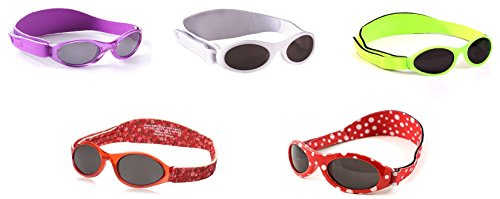 BanZ Baby Sunglasses (Purple Tortoise Shell)