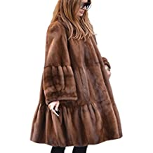 Suchergebnis auf für: Kunstpelz Mantel Mit Prime