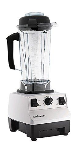 Vitamix 5200 Batidora de vaso 2L 1200W Negro, Color blanco - Licuadora (2 L, Batidora de vaso, Negro, Blanco, De plástico, 1200 W, 5 kg)