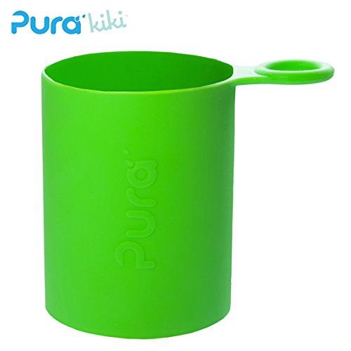 Pura Kiki - Sport Silikonüberzug (Sleeve) - 500ml/800ml Pura Farbe Grün