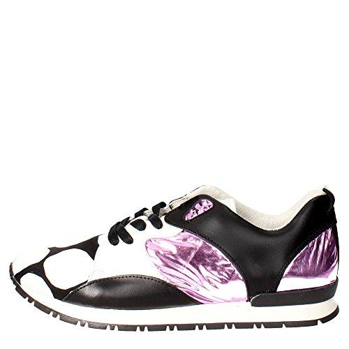 D.a.t.e. MARS Sneakers Donna Bianco/Nero