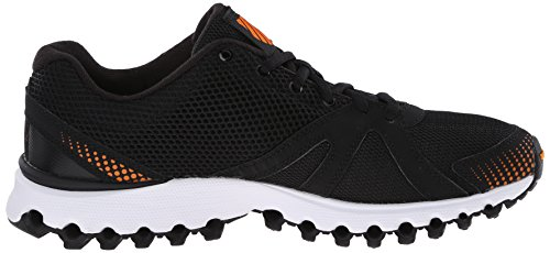 K-Swiss Mens X-160 CMF Training Shoe Black/Orange Popsicle