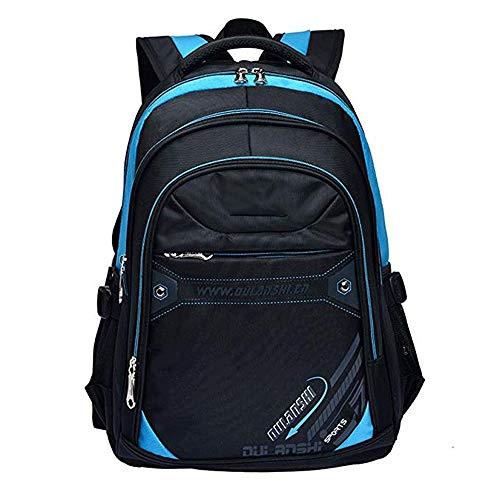 MMPY Ultraleichter wasserdichter Jungen-Schulrucksack Schultaschen-Set for Jungen im Teenageralter Lässiger Tagesrucksack Lässiger Schülerrucksack Schultasche for Mädchen und Jungen im Teenageralter
