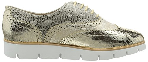 La Strada Gold/Natural Lace Up Shoe Damen Sneakers Gold (1443 - gold)