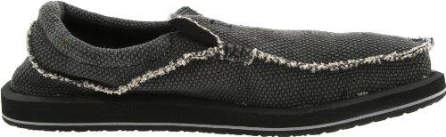 Sanuk Chiba 29418019, Chaussures basses homme Noir - V.9