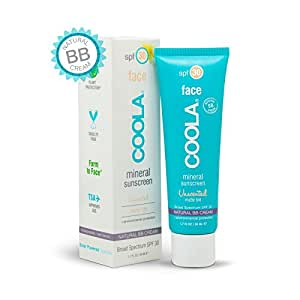 Coola Mineral Face Spf 30 Sunscreen Matte Tint, Unscented, 1.7 Ounce