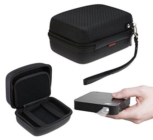 Navitech Étui rigide noir pour le RIF6 Cube 2-inch