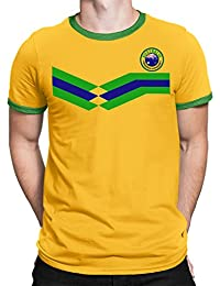 Tee Spirit Australia Camiseta Para Hombre World Cup 2018 Fútbol New Style Retro
