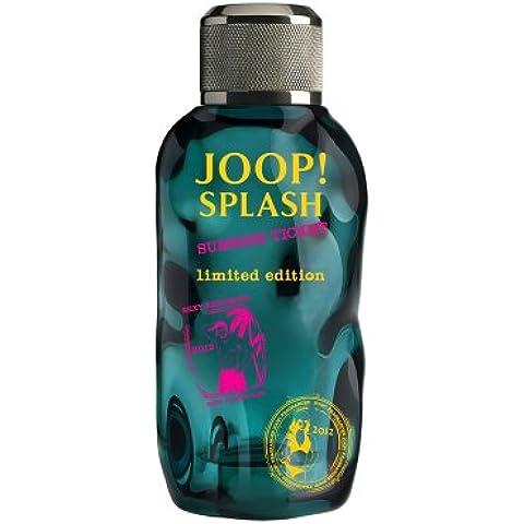 Joop Splash Summer Ticket Eau de Toilette Spray for Men, Limited Edition, 3.8 Ounce by Joop!