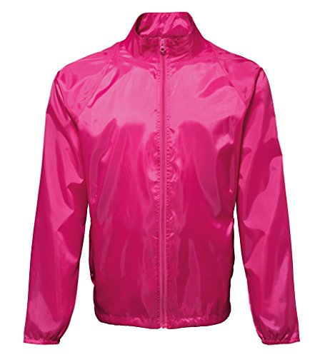 MAKZ Herren Mantel Hot Pink