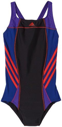 Athletic Badeanzug (adidas Mädchen Badeanzug Inspiration Athletic, Black/Hirere, 128, G83408)