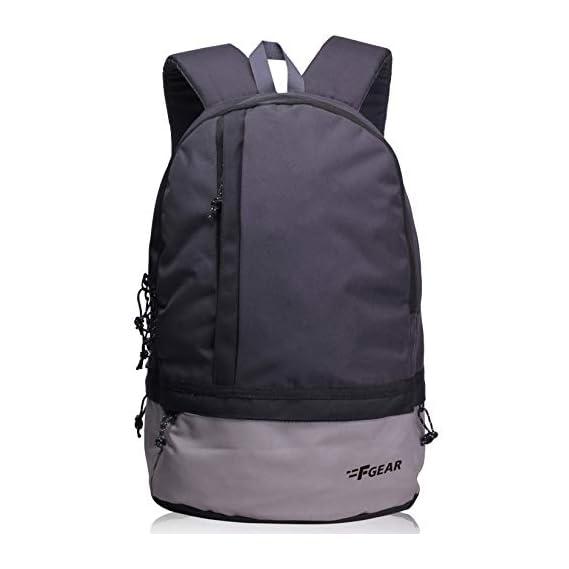 F Gear Burner GB 26 Ltrs Dark Grey Casual Laptop Backpack (2449)