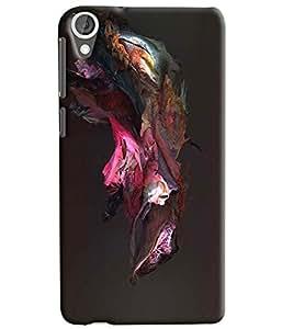 Meraki Silicone Soft Printed Back Cover For Samsung Htc Desire 820