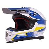 LOLIVEVE Professioneller Off-Road Racing Helm Mit Airbag Helm Motorradhelm