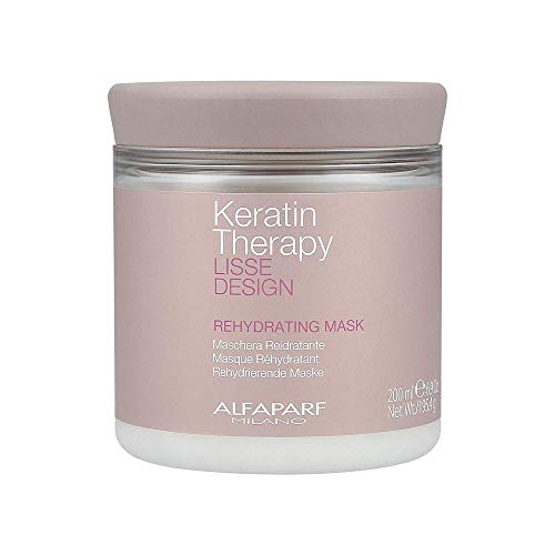 Alfaparf Lisse Design Keratin Therapy Rehydrating Mask 200ml - rehydrierende maske -