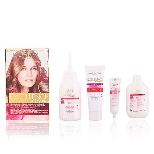 L'Oréal Paris Excellence Crème Triple Protección 7 Rubio - 200 gr