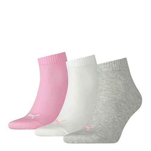 Puma Plain 3p Quarter Socke Rosa (Prism Pink)