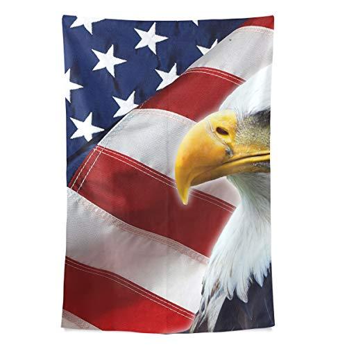 r Amerikanische Flagge Wandteppich Wandbehang Cool Post Print Für Wohnheim Home Wohnzimmer Schlafzimmer Tagesdecke Picknick Bettlaken 80 X 60 Zoll ()