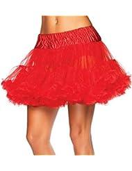 Waboats Mujer Enaguas Rockabilly Trasparentes Tutu Underskirt Boda Danza Partido