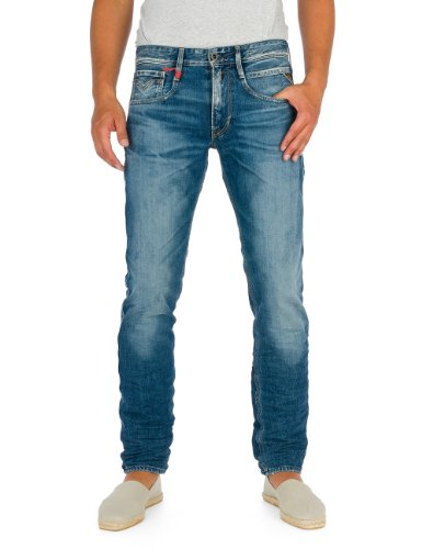 Replay - Jeans Slim - Homme Bleu (Blue Denim 9)