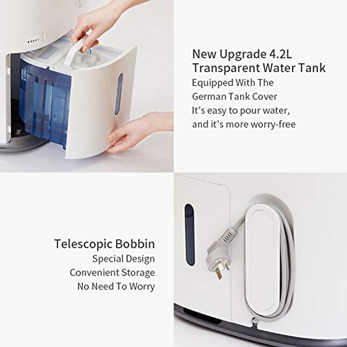 Household Air Purification Dehumidifier 4200ml Water Tank Semiconductor Dehumidifier High Efficiency Operated With Low…