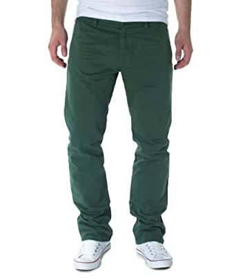 Tom Tailor Herren Chinos MARVIN CASUAL CHINO SLIM, green (7326), W29/L32