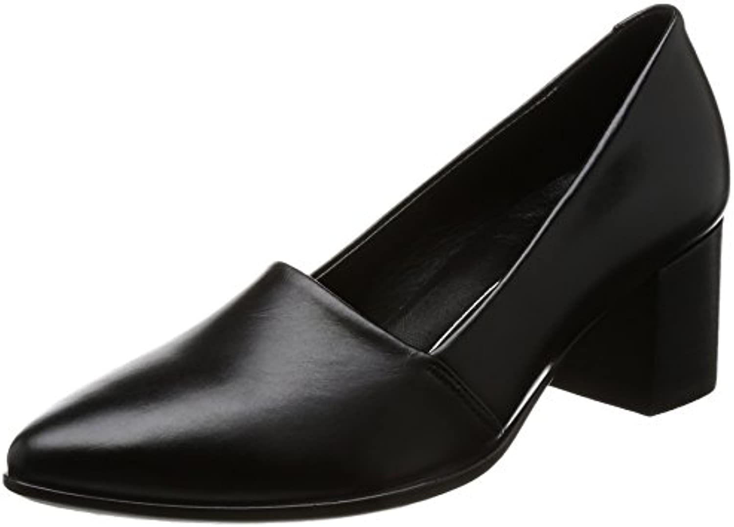 Ecco Damen Shape 45 Pointy Block Pumps