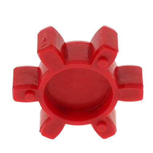 Almencla Rot 6 Blütenblätter Gummi Motor Dämpfer Kupplung Einsatz Spider Wellenkupplung Dämpfer Kissen Für Heavy Machinery Kupplung