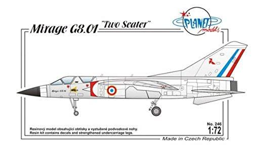 Planet Models plt246 - Modèle Kit Dassault Mirage G8-01 France, Moderne