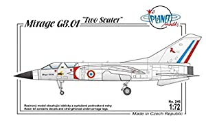Planet Models plt246 - Maqueta de Dassault Mirage G8 - 01 France, Modern