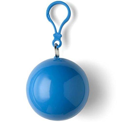 Notfall-Poncho Universum, idial für Festivals, klein und schnell verpackt, Regencape, Regenpocho, viele Farben Blue