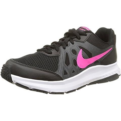 Nike Dart 11 - Zapatillas de running para mujer, color gris / blanco / negro, talla 38