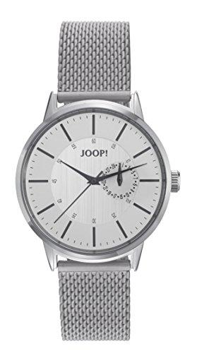 Montre Hommes Joop! Quartz - Affichage Analogique Bracelet Acier Inoxydable Argent et Cadran Argent JP101921003