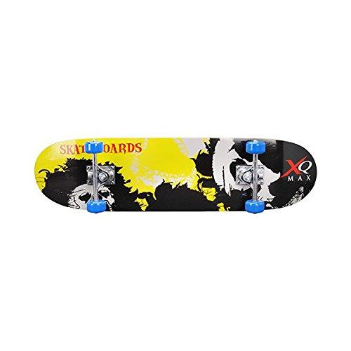 Brett-Skate aus Holz–Skateboard Trolley komplett