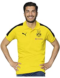 2016-2017 Borussia Dortmund Puma Performance Polo Shirt (Yellow)