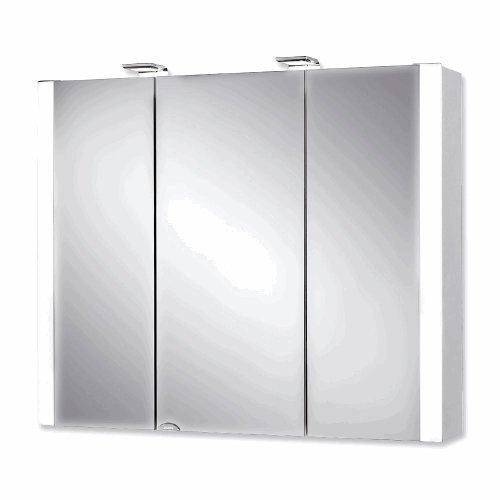 #Jokey Spiegelschrank Jarvis weiß 80cm 3 Türen#