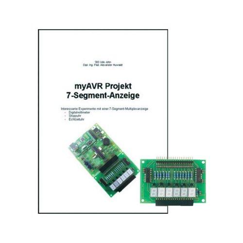 myAVR Erweiterungspaket Projekt 7-Segment-Anzeige