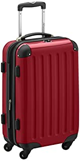 HAUPTSTADTKOFFER - Alex- Carry on luggage On-Board Suitcase Bag Hardside Spinner Trolley 4 Wheel Expandable, 55cm, red (B004MYLN8S)   Amazon price tracker / tracking, Amazon price history charts, Amazon price watches, Amazon price drop alerts